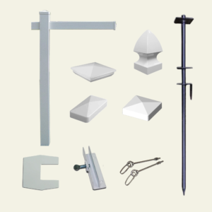 Real Estate Sign Post and Accessories