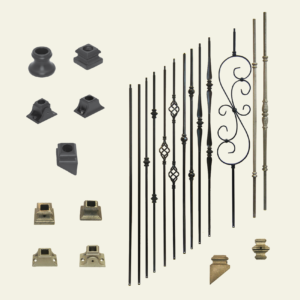 Indoor Stair Metal Spindles & Accessories