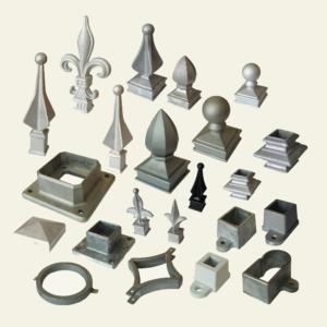 Aluminum Railing Components