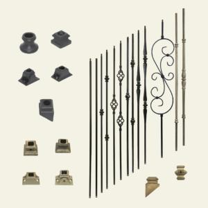 Indoor Stair Metal Spindles & Accessories